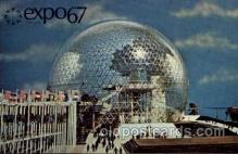 exp180014 - Montreal, Canada Exposition, 1967 expo67, Postcard Post Card