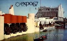 exp180016 - Montreal, Canada Exposition, 1967 expo67, Postcard Post Card