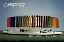 exp180018 - Montreal, Canada Exposition, 1967 expo67, Postcard Post Card
