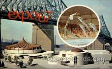 exp180019 - Montreal, Canada Exposition, 1967 expo67, Postcard Post Card