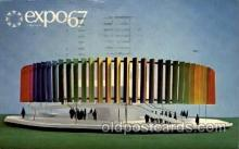exp180020 - Montreal, Canada Exposition, 1967 expo67, Postcard Post Card
