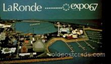 exp180022 - Montreal, Canada Exposition, 1967 expo67, Postcard Post Card