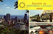 exp180024 - Montreal, Canada Exposition, 1967 expo67, Postcard Post Card