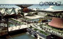exp180026 - Montreal, Canada Exposition, 1967 expo67, Postcard Post Card