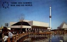 exp180027 - Montreal, Canada Exposition, 1967 expo67, Postcard Post Card