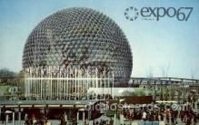 exp180028 - Montreal, Canada Exposition, 1967 expo67, Postcard Post Card