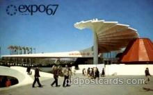 exp180029 - Montreal, Canada Exposition, 1967 expo67, Postcard Post Card