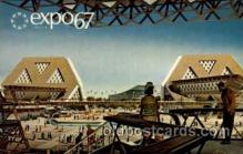 exp180030 - Montreal, Canada Exposition, 1967 expo67, Postcard Post Card