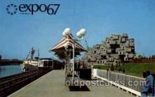 exp180035 - Montreal, Canada Exposition, 1967 expo67, Postcard Post Card