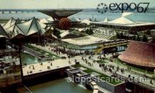 exp180038 - Montreal, Canada Exposition, 1967 expo67, Postcard Post Card