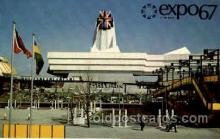 exp180039 - Montreal, Canada Exposition, 1967 expo67, Postcard Post Card
