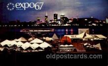exp180044 - Montreal, Canada Exposition, 1967 expo67, Postcard Post Card