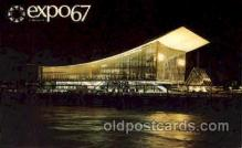 exp180046 - Montreal, Canada Exposition, 1967 expo67, Postcard Post Card