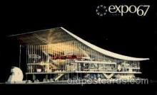 exp180048 - Montreal, Canada Exposition, 1967 expo67, Postcard Post Card