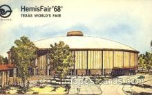 exp190002 - Hemisfair Exposition 1968, Texas, USA Worlds Fair, Postcard Post Card