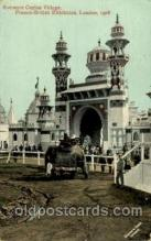 exp200005 - Entrance Ceylon Village, Franco - British Exhibition, London, 1908