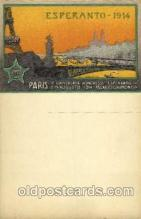 exp200009 - Esperanto-1914, Paris