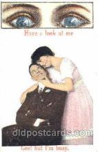 eye001003 - Eye, Eyes Postcard Post Card
