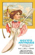 eyy0001349 - Post Card Old Vintage Antique