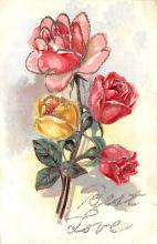 eyy000321 - Post Card Old Vintage Antique