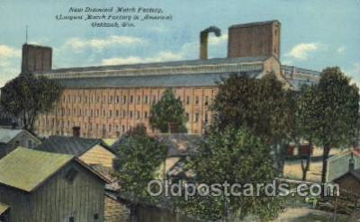 Match Factory, Oshkosh, Wisconsin, USA