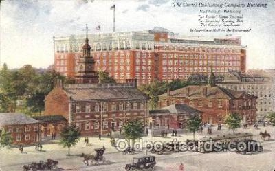 fac001055 - The Curtis Publishing Co. Factory Postcard Post Card