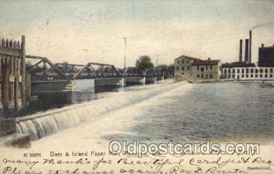 Dam & Island Paper Mill