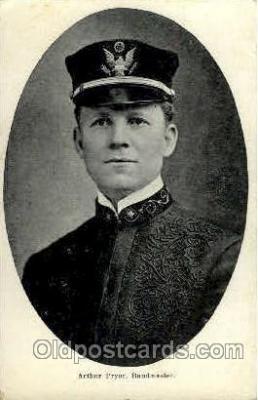 fam100152 - Arthur Pryor, Bandmaster Famous People Postcard Post Card