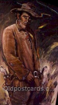 fam100292 - John Wesley Hardin (Gunfighter) Famous People Old Vintage Antique,  Postcard Post Card