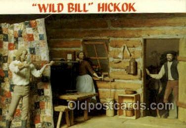 fam100347 - Wild Bill Hickok Famous People Old Vintage Antique Postcard Post Card