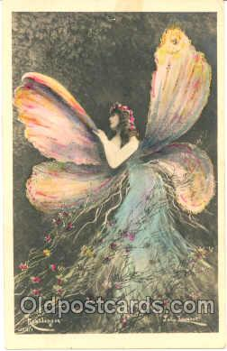 fan001080 - Artist John Laurent, Fantasy Postcard Post Card