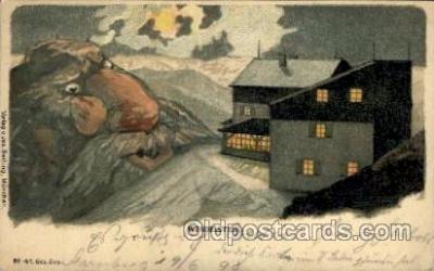 fan001150 - Fantasy Postcard Post Card