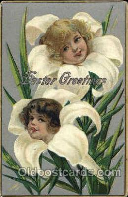 fan001313 - Happy Easter, Fantasy Postcard Post Card