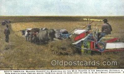 far001100 - Harvesting Farming, Farm, Farmer, Postcard Postcards