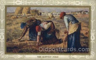 far001311 - Artist Jean Francois Millet Farming Old Vintage Antique Postcard Post Card