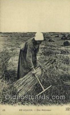 far001351 - En Beauce Farming Old Vintage Antique Postcard Post Card