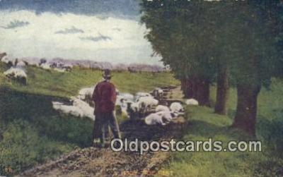 far001378 - A Noon Tide Rest Farming Postcard Post Card