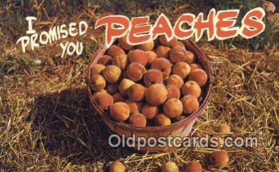 far001431 - Peaches Farming Postcard Post Card