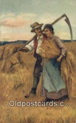 far001447 - Artist PFB Farming Postcard Post Card