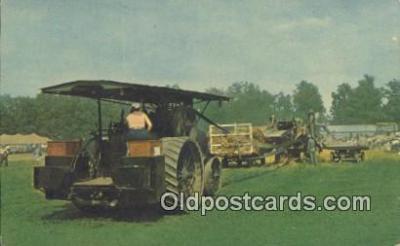 far001474 - Ready to Thrash Farming Postcard Post Card