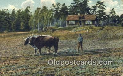far001489 - Farming Postcard Post Card