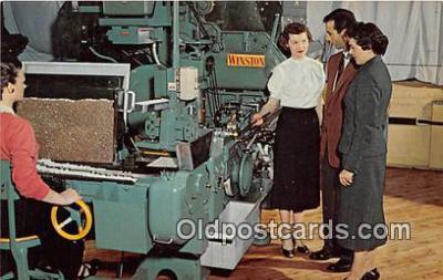 far001568 - RJ Reynolds Plant, Winston Salem North Carolina, USA Postcards Post Cards Old Vintage Antique