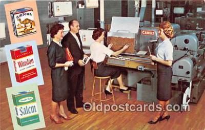 far001588 - Carter Hall, Cavalier Cigarettes Winston Salem, NC, USA Postcards Post Cards Old Vintage Antique