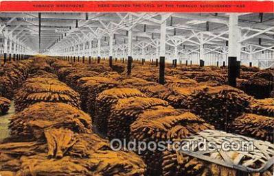 far001589 - Tobacco Warehouse Tobacco Auctioneers Postcards Post Cards Old Vintage Antique