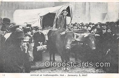 Arrival at Indianapolis, In Jan 5, 1907