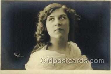 ffs001001 - Mona Vivian Foreign Film Stars Old Vintage Antique Postcard Post Card