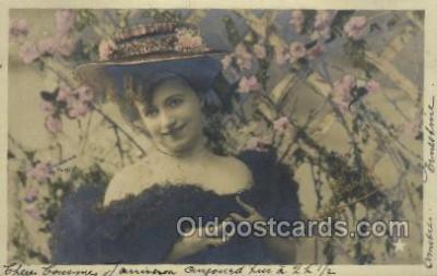 ffs001013 - Foreign Film Stars Old Vintage Antique Postcard Post Card