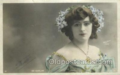 ffs001017 - De Corlay Foreign Film Stars Old Vintage Antique Postcard Post Card