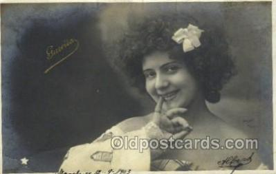ffs001027 - Guerita Foreign Film Stars Old Vintage Antique Postcard Post Card