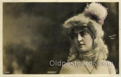 ffs001032 - Dorcy Foreign Film Stars Old Vintage Antique Postcard Post Card
